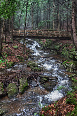 Photograph - Lonely Bridge Over Troubled Water by Jeff Folger