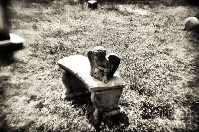 Photograph - Lonely Cherub by John Rizzuto
