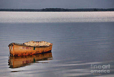 Photograph - Lonely Dinghy by Randy Rogers