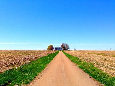 Photograph - Lonely Farm by Chris Montcalmo