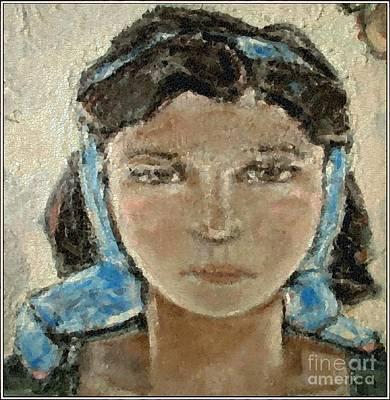 Pemaro Painting - Lonely Girl Lg1 by Pemaro