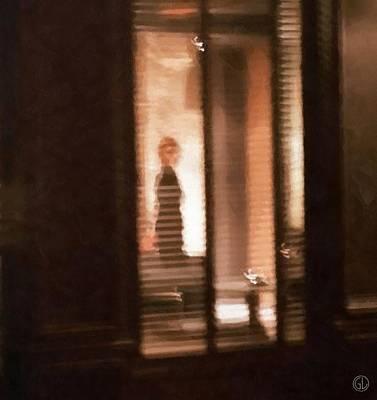 Alone Digital Art - Lonely by Gun Legler