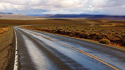 Photograph - Lonely Highway 140 by Daniel Woodrum