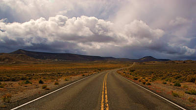 Photograph - Lonely Highway 140 II by Daniel Woodrum