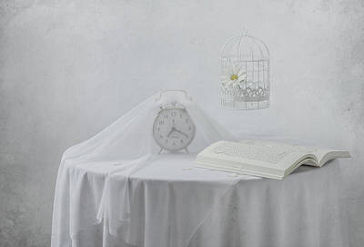 Table Cloth Photograph - Lonely Hours... by Margareth Perfoncio