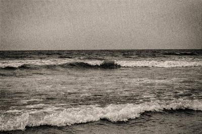 Lonely Ocean Art Print by J Riley Johnson
