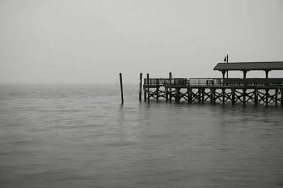 Mark Alexander Photograph - Lonely Pier by Mark Alexander