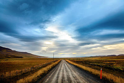 Road Photograph - Lonely Road by Alexey Stiop