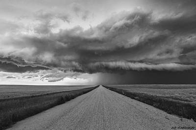 Photograph - Lonely Road by Jeff Niederstadt