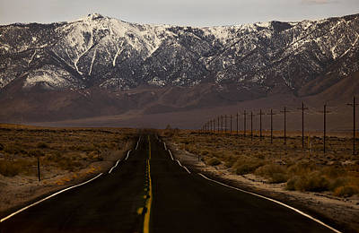 Photograph - Lonely Road  Mg_8572 by David Orias