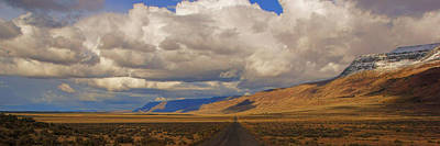 Photograph - Lonely Road Through Warner Valley by Daniel Woodrum