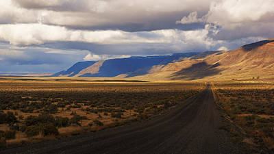 Photograph - Lonely Road Through Warner Valley II by Daniel Woodrum