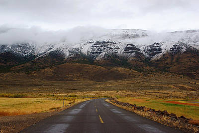 Photograph - Lonely Road Through Warner Valley IIi by Daniel Woodrum