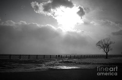 Photograph - Lonely Sentinel Niagara River by Kathi Shotwell