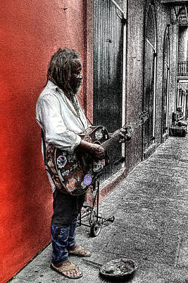 Photograph - Lonely Street Of Blues by Timothy Lowry