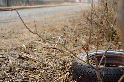 Photograph - Lonely Tire by Jason Massey