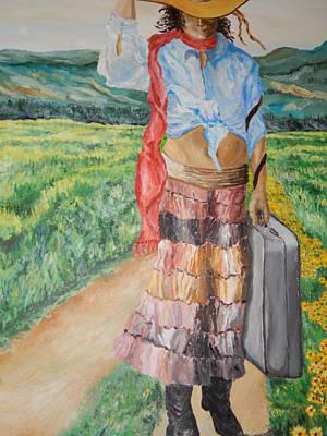 Robert Schmidt Painting - Lonely Trail by Robert Schmidt