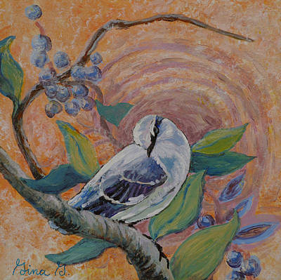 Painting - Lonesome Dove by Gina Grundemann