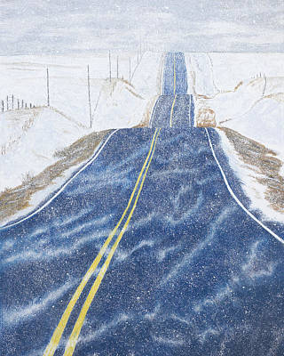 Painting - Lonesome Highway by Garry McMichael