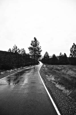 Photograph - Lonesome Highway No. 2 by Lennie Green