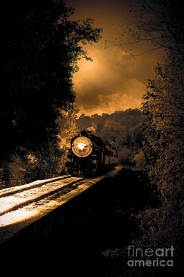 Train Photograph - Lonesome Whistle by Robert Frederick