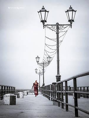 Photograph - Long Back On The Bridge by Stwayne Keubrick