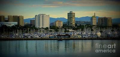Photograph - Long Beach Cityscape   by Susan Garren
