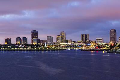 Photograph - Long Beach Dusk by Kelley King