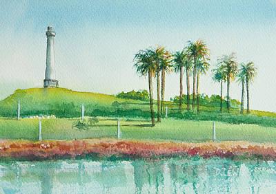 Long Beach Lighthouse Art Print