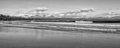 Ebbtide Photograph - Long Beach Panorama by Allan Van Gasbeck