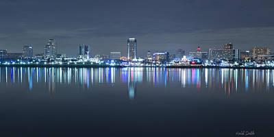 Photograph - Long Beach Skyline by Heidi Smith