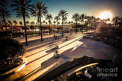 Photograph - Long Beach Sunset by Sviatlana Kandybovich