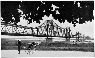 Long Bien Bridge Art Print by Cci Archives