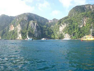 Long Photograph - Long Boat Tour - Phi Phi Island - 011310 by DC Photographer