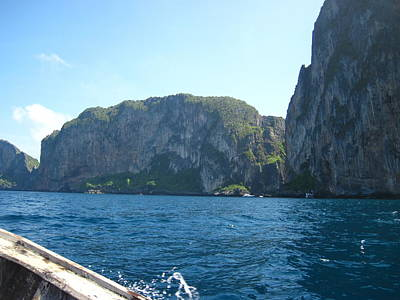 Thailand Photograph - Long Boat Tour - Phi Phi Island - 0113127 by DC Photographer