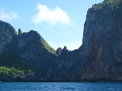 Tours Photograph - Long Boat Tour - Phi Phi Island - 0113130 by DC Photographer