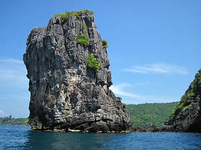 Long Boat Tour - Phi Phi Island - 0113193 Print by DC Photographer