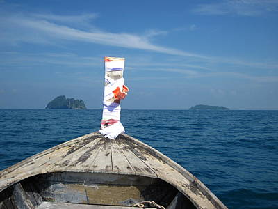 Long Boat Tour - Phi Phi Island - 0113200 Print by DC Photographer