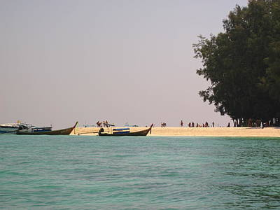 Long Boat Tour - Phi Phi Island - 0113213 Art Print by DC Photographer