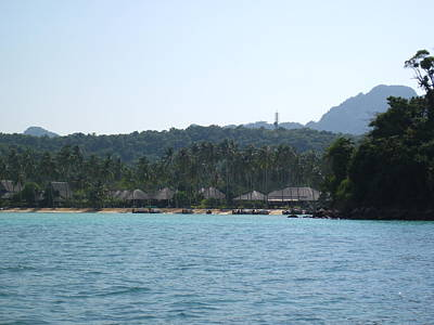 Sand Photograph - Long Boat Tour - Phi Phi Island - 0113252 by DC Photographer