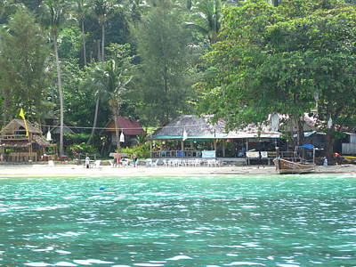 Long Boat Tour - Phi Phi Island - 0113259 Print by DC Photographer