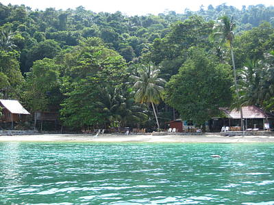 Surf Photograph - Long Boat Tour - Phi Phi Island - 0113262 by DC Photographer