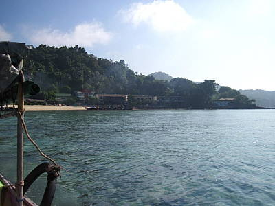 Ocean Photograph - Long Boat Tour - Phi Phi Island - 01135 by DC Photographer
