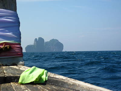 Thailand Photograph - Long Boat Tour - Phi Phi Island - 011369 by DC Photographer