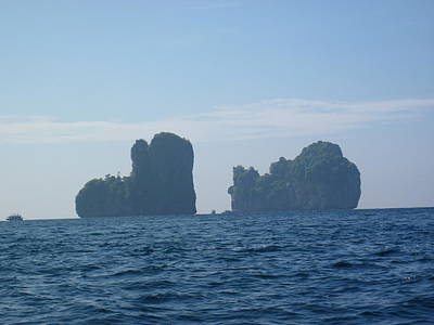 Thailand Photograph - Long Boat Tour - Phi Phi Island - 011385 by DC Photographer