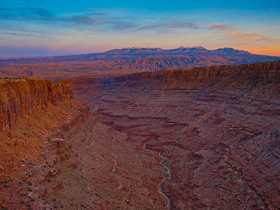 Photograph - Long Canyon by Greg Sagan