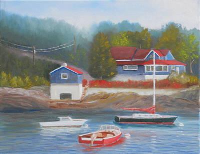 Long Cove Art Print