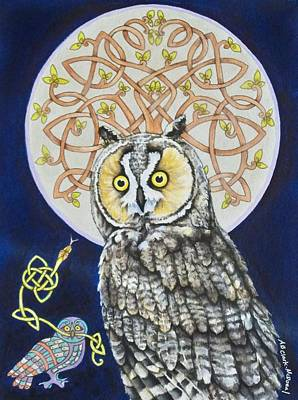 Long Eared Owl Original
