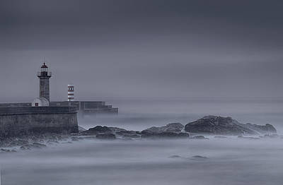 Long Exposure Foz Porto Art Print