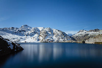 Photograph - Long Exposure Of Totesee Grimsel Pass Switzerland by Charles Lupica